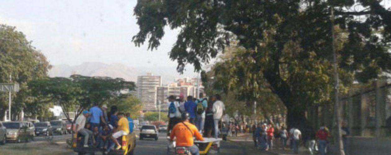 Banda Chino Pedrera paralizó Maracay con toque de queda
