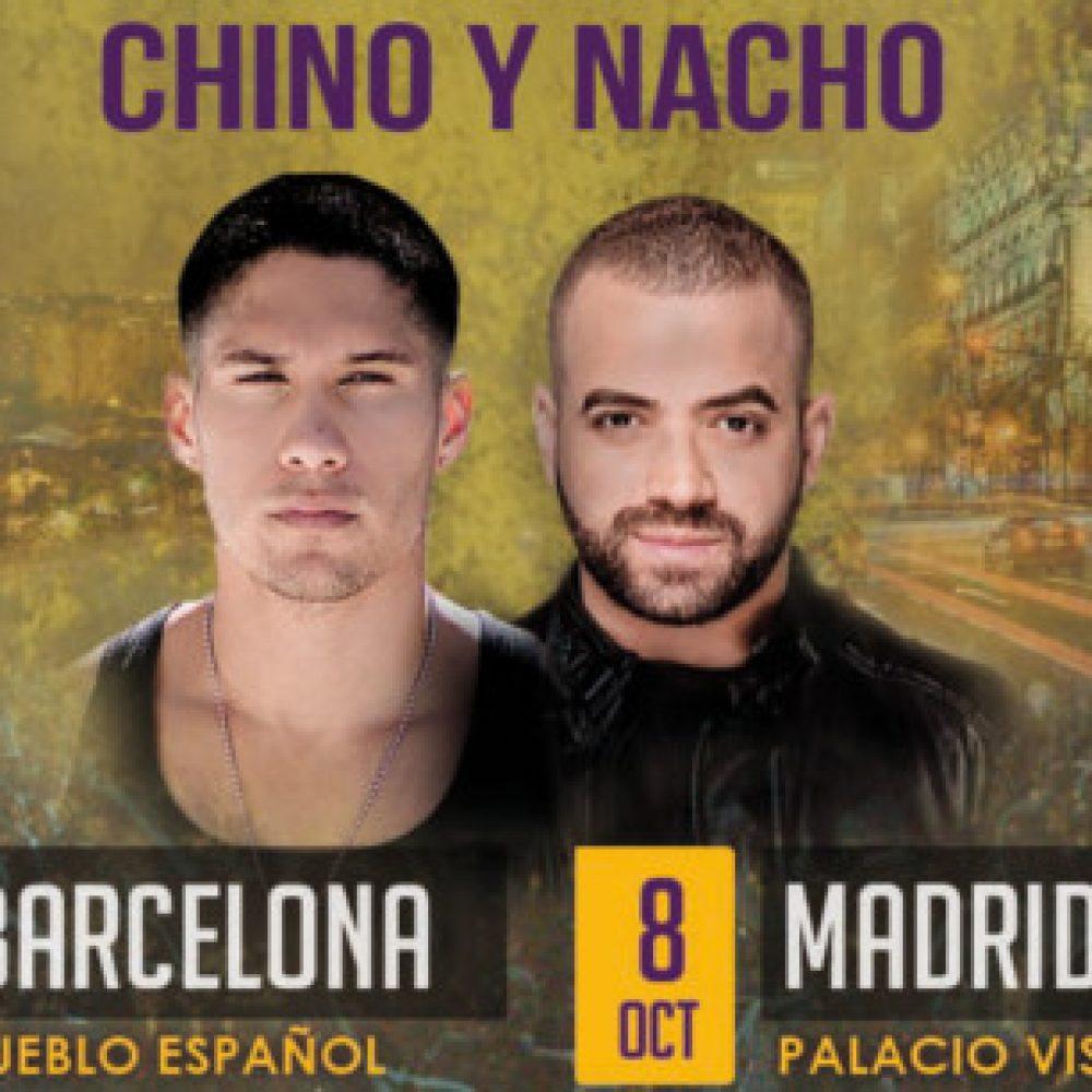 Chino y Nacho cierran su primera gira europea en Madrid y Barcelona este fin de semana