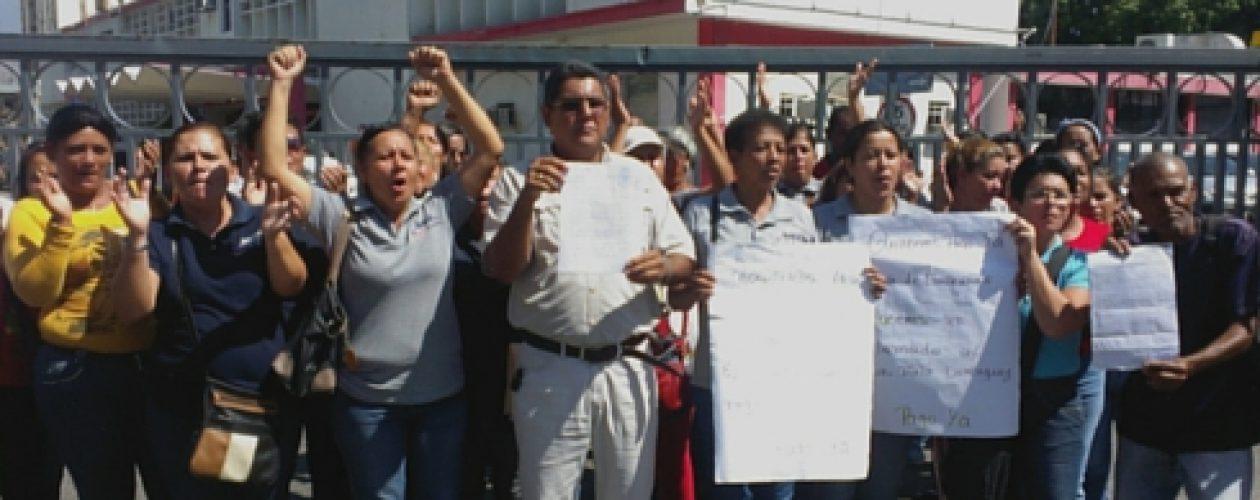 Trabajadores de Corpoelec Aragua inician huelga