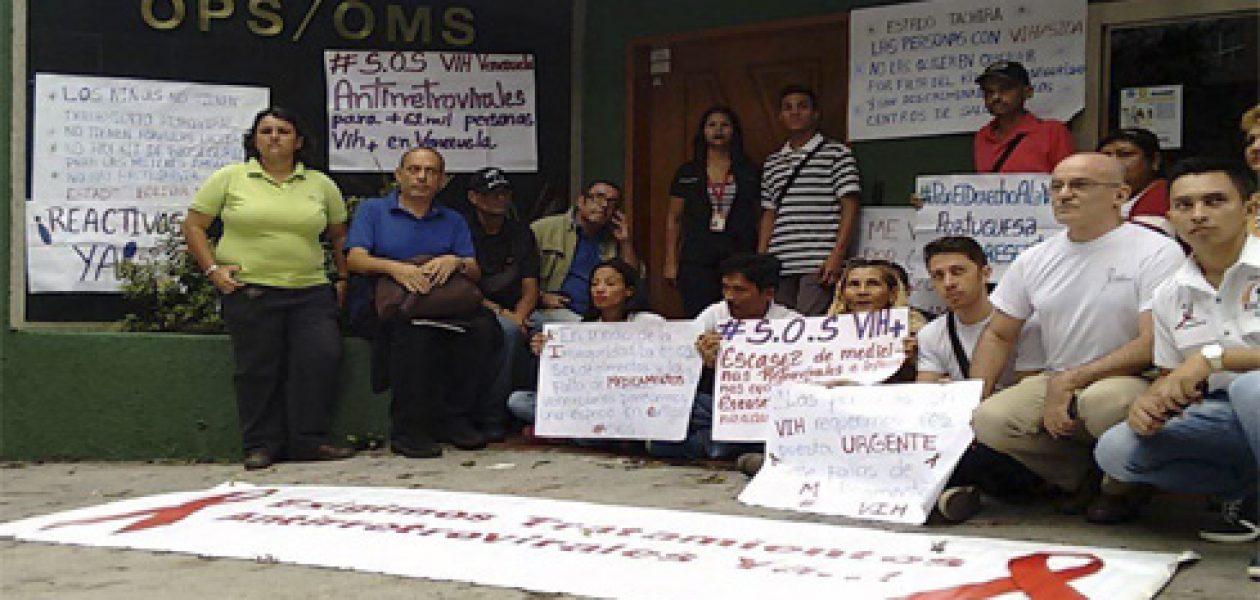 """Crisis humanitaria: """"Yo soy VIH y no me quiero morir"""""""