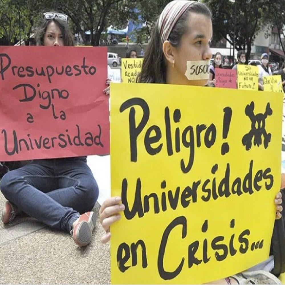 Universidades en Venezuela sin profesores ni estudiantes