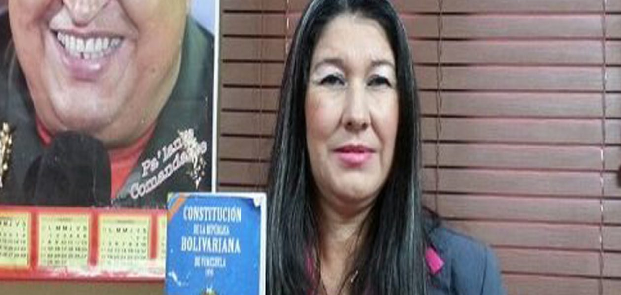 Diputada chavista del estado Falcón pide detener la Constituyente