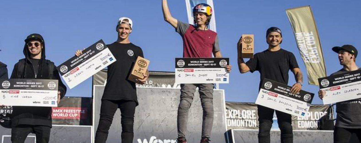 Daniel Dhers gana campeonato mundial de BMX Freestyle