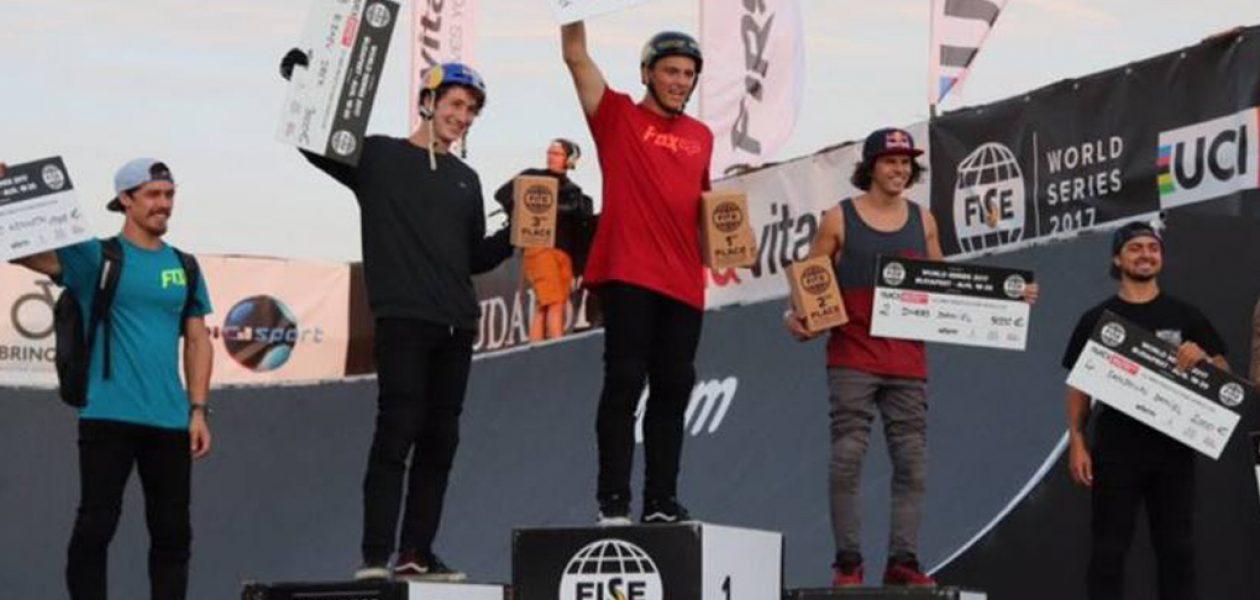 Venezolano Daniel Dhers gana segundo lugar en Mundial de BMX