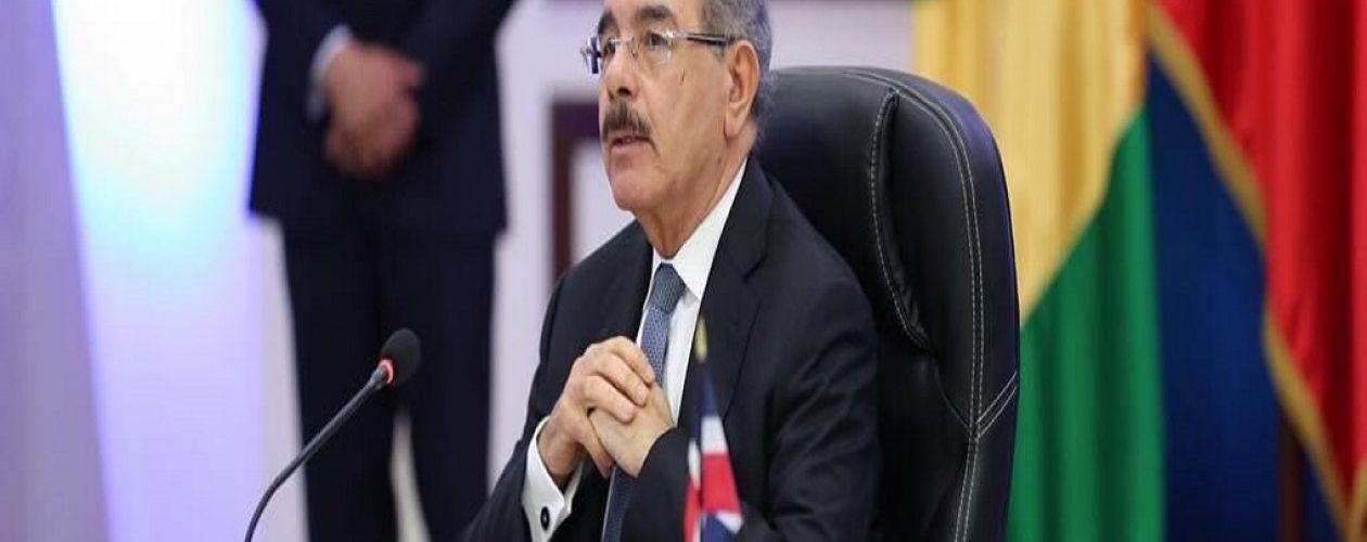 Danilo Medina desmiente a Maduro sobre nuevo diálogo en Dominicana (Video)