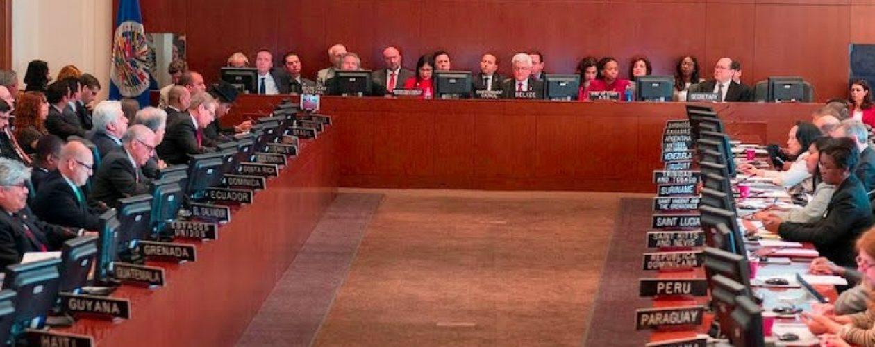 Suspendida reunión de cancilleres sin decisión de la OEA sobre Venezuela