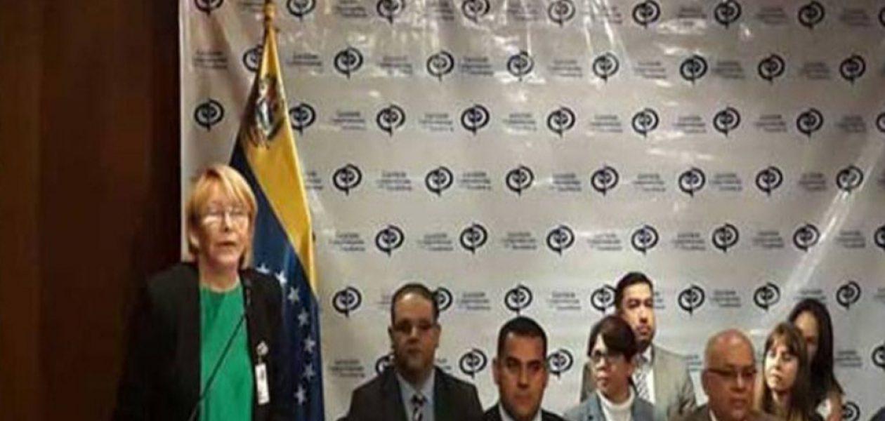Fiscal Luisa Ortega Díaz desconoce sentencias del TSJ