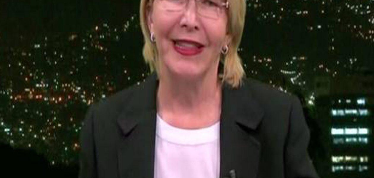 Declaraciones de Luisa Ortega Díaz en CNN