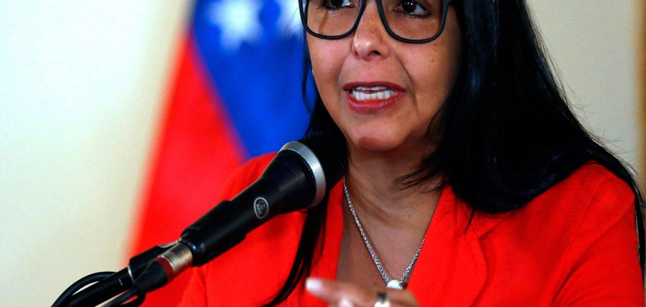 Delcy Eloina Rodríguez electa presidenta de la Asamblea Constituyente