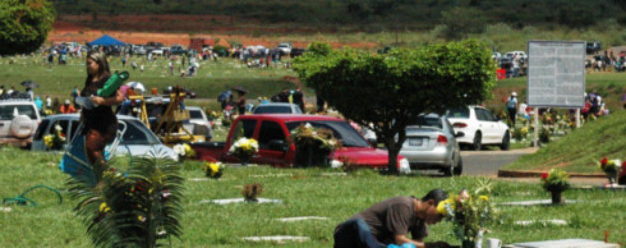 Hurtan en tumbas de cementerio privado en Puerto Ordaz