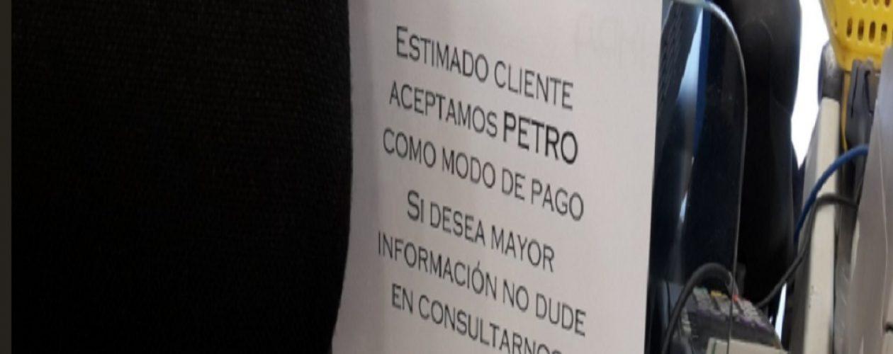 Anuncian que tienda por departamento acepta el Petro