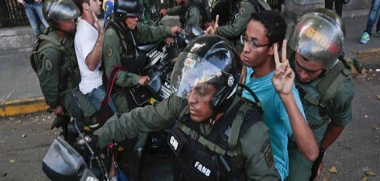 Asciende cifra de detenidos durante protestas en Venezuela