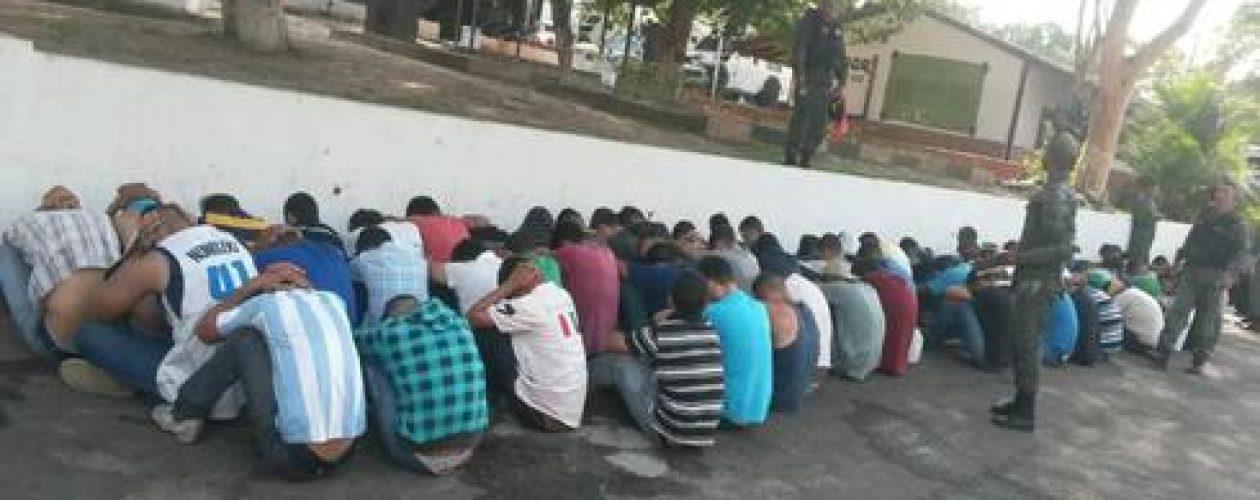 Más de 70 detenidos en Guayana durante marchas opositoras