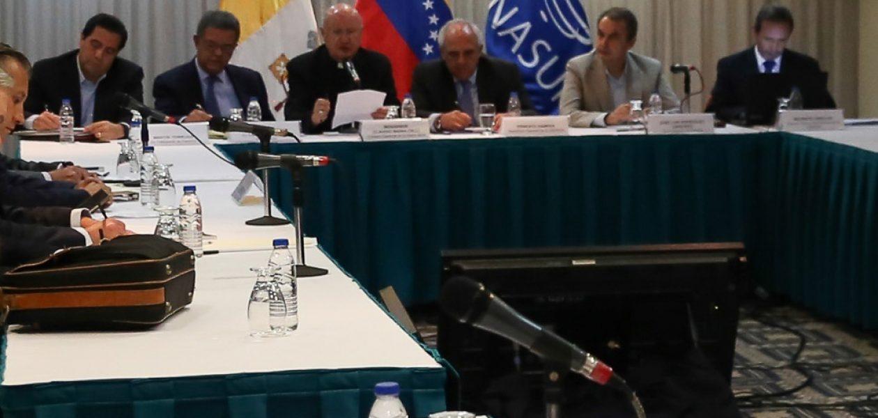 MUD niega el reinicio del dialogo Gobierno Oposición