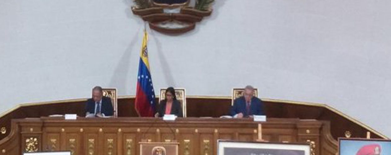 Disuelta la Asamblea Nacional: Constituyente asume competencias legislativas