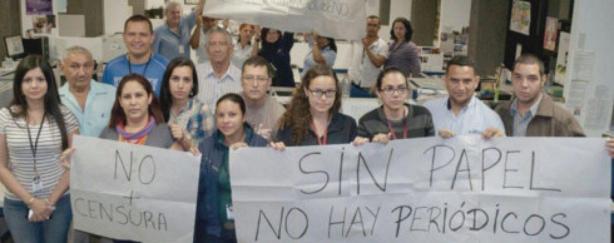 Cese de El Carabobeño: Apagón informativo por falta de papel