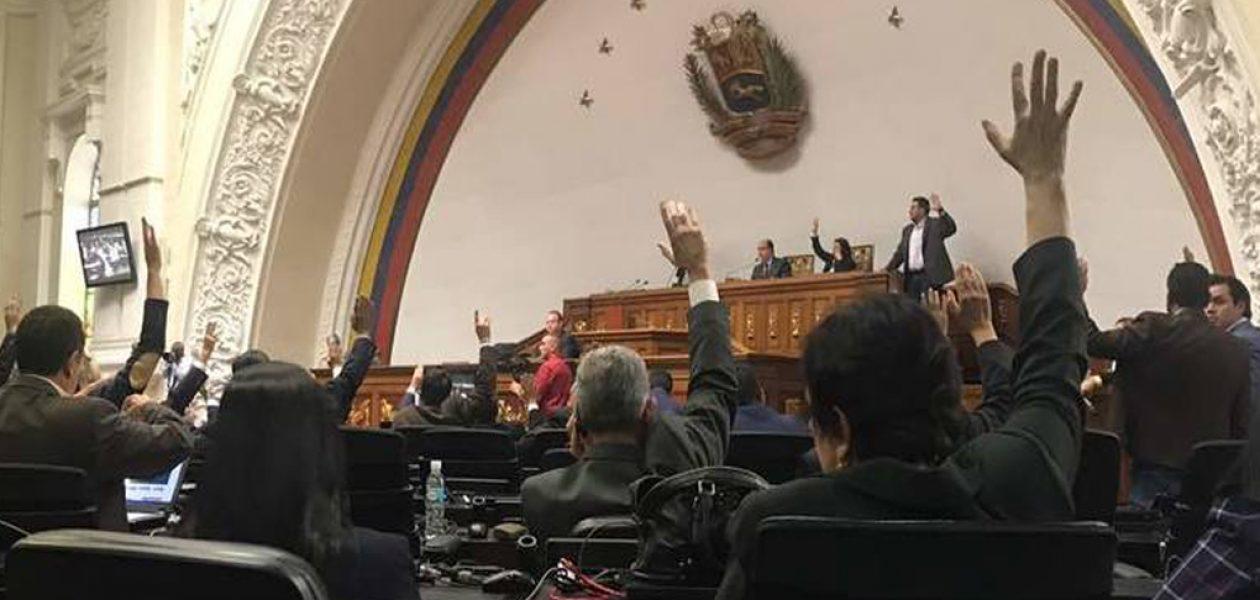Asamblea Nacional declaró emergencia sanitaria en el país