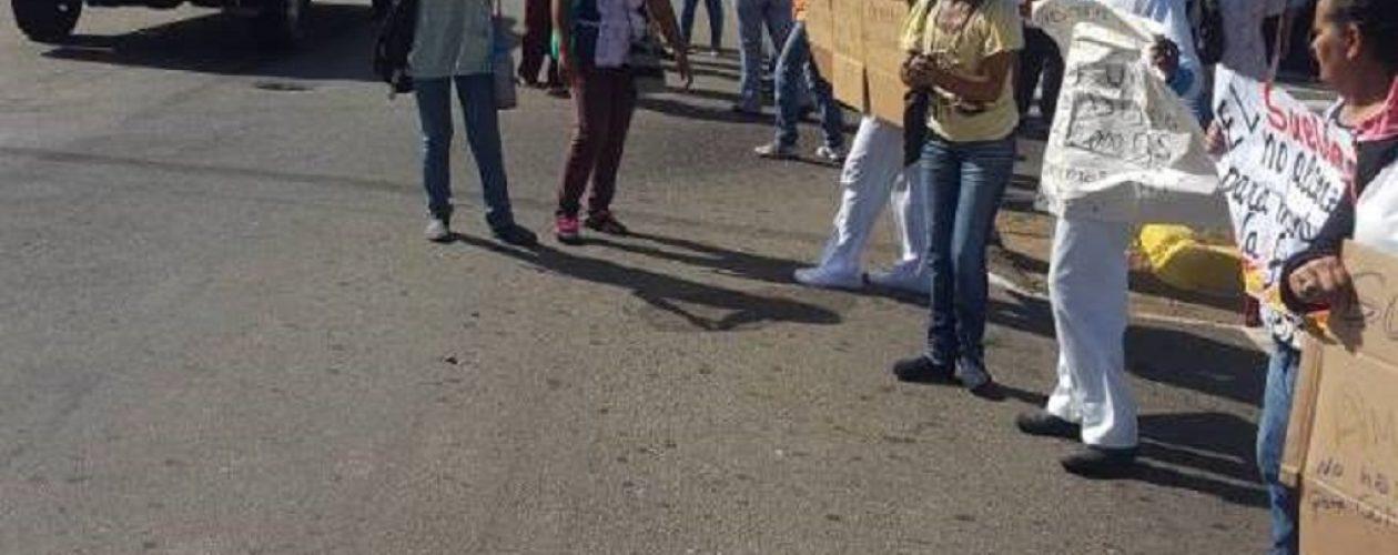 Enfermeras en Guayana reclaman salarios dignos y transporte