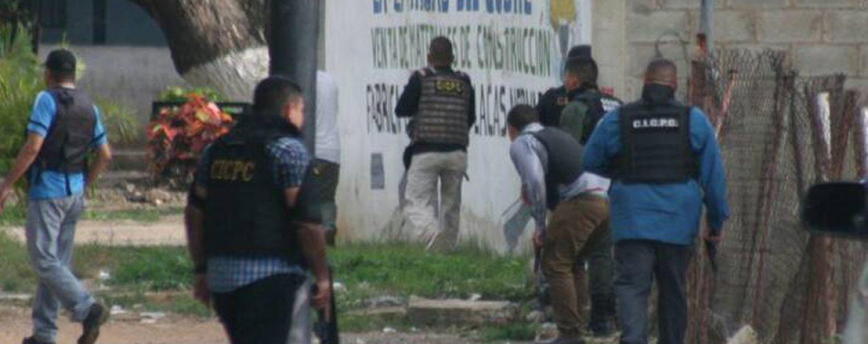 Enfrentamiento en Tocorón deja a tres funcionarios del Cicpc heridos