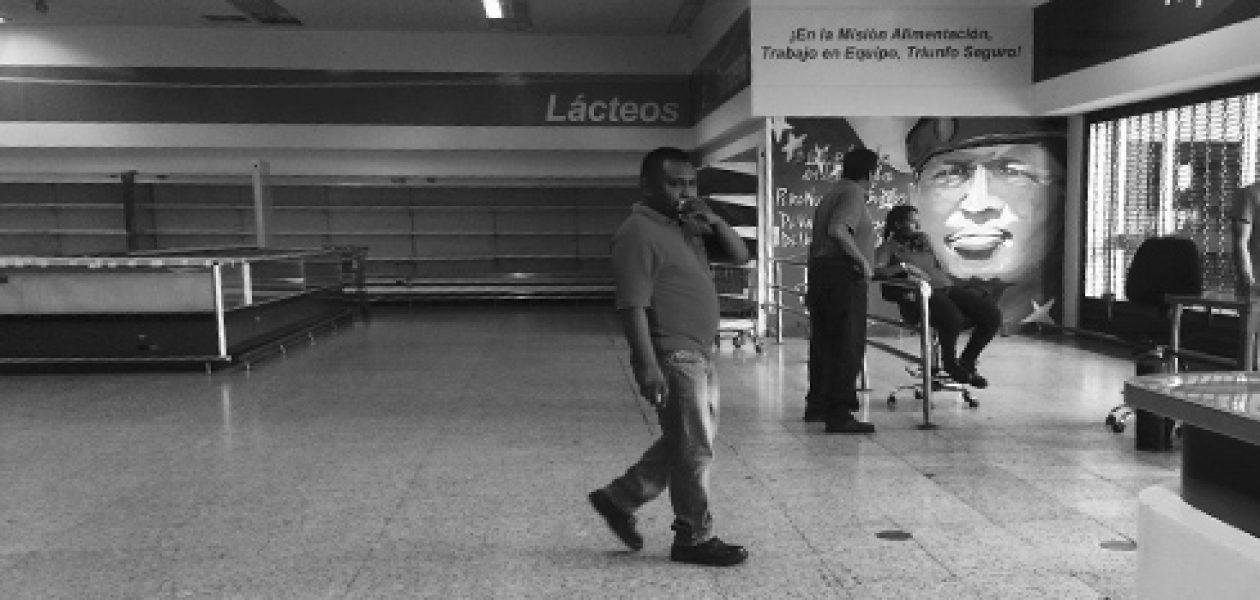 Escasez de alimentos: Abastos Bicentenario están más vacíos que nunca