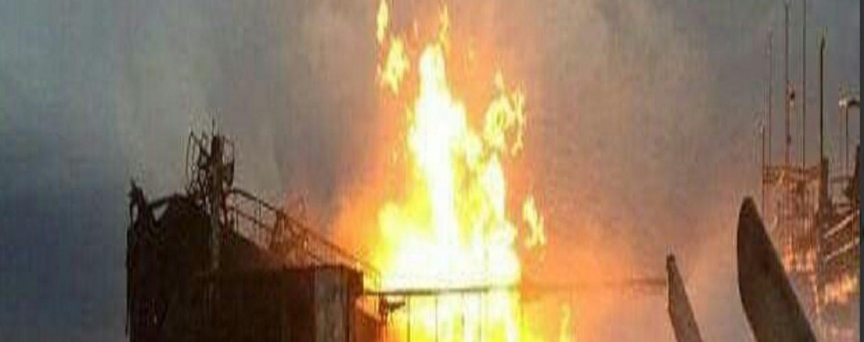 Falleció un trabajador en explosión de la gabarra en Bachaquero