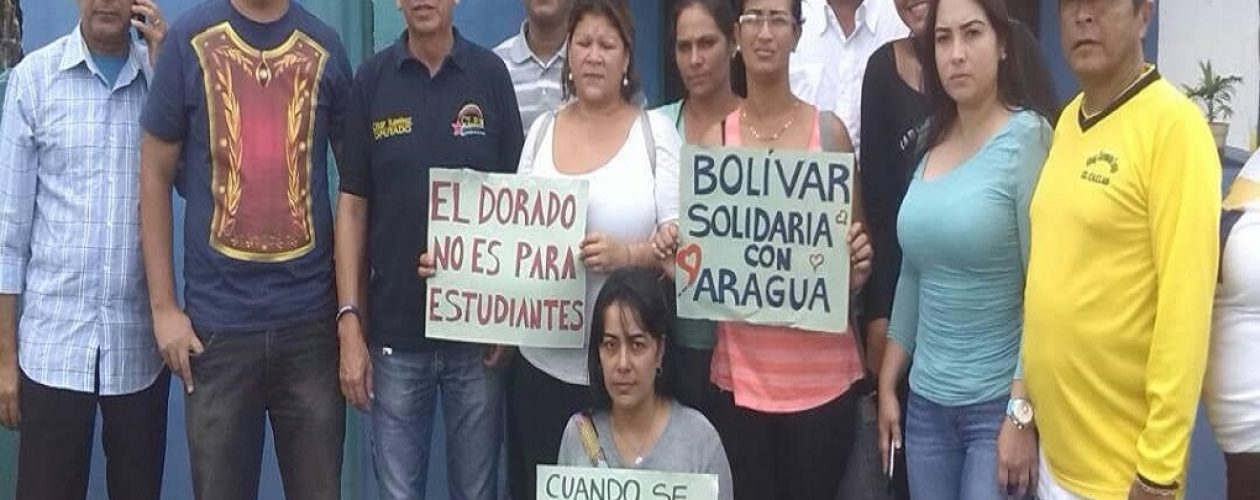 Estudiante de la UPEL recluido en El Dorado con severos problemas de salud