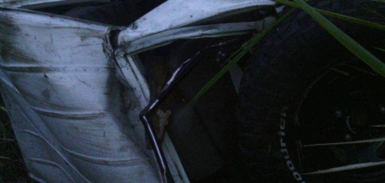 Freddy Bernal se volcó en una camioneta al salir de Yaracuy