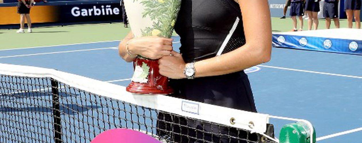 Garbiñe Muguruza campeona en el Masters 1000 de Cincinnati
