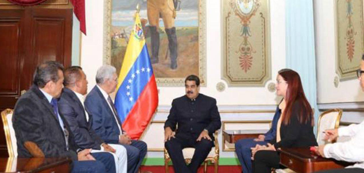 Maduro sostuvo reunión con gobernadores opositores