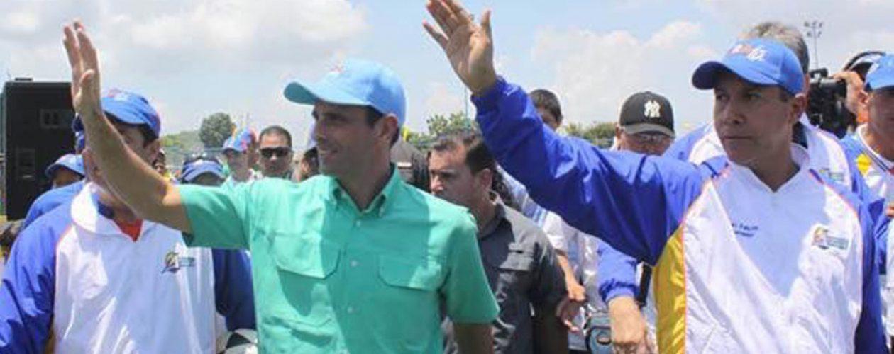 Henri Falcón anunció que Capriles será parte de su gabinete presidencial