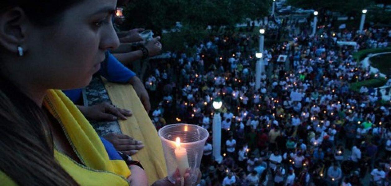 Homenaje a los caídos iluminó el cielo de Maracaibo