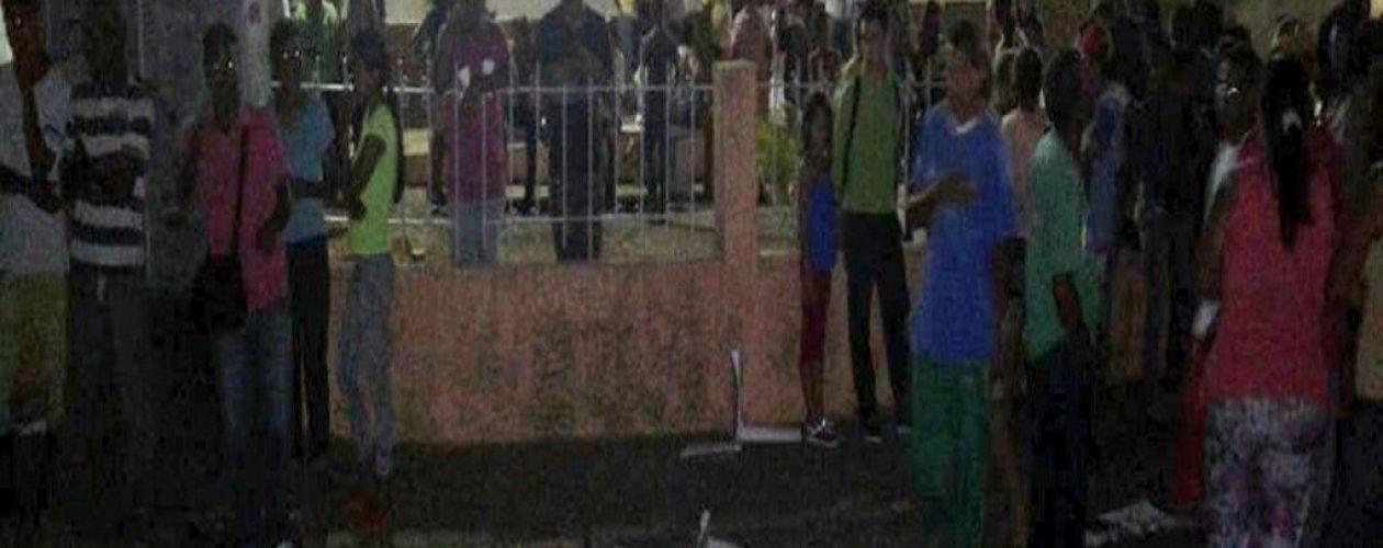 Camión arrolla a 15 personas en iglesia Inmaculada Concepción de Ciudad Bolívar