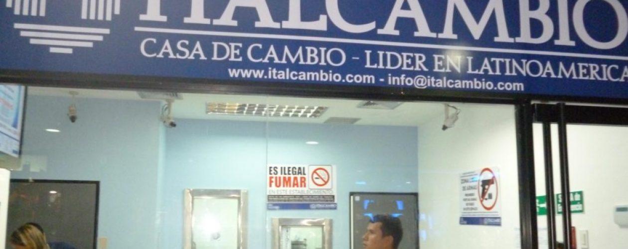 Italcambio también está siendo evaluada y supervisada, según Sudeban