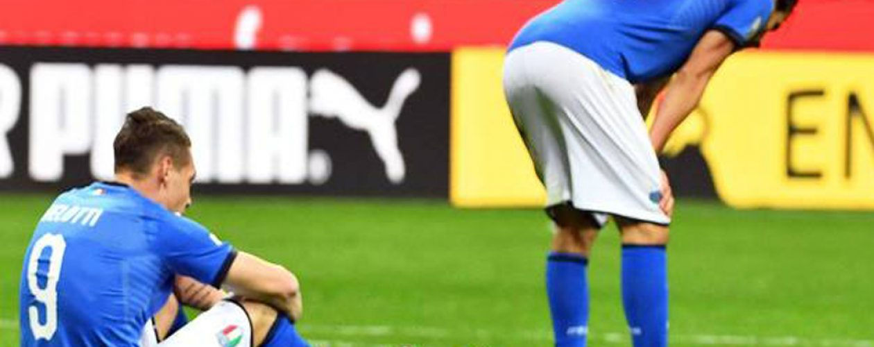 Suecia deja a Italia fuera del Mundial luego de 60 años