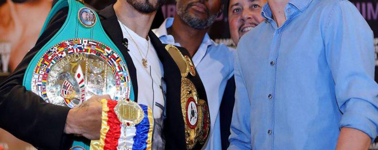 Jorge Linares defenderá este sábado su título ligero de AMB