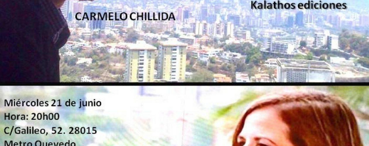 """Kalathos invita al encuentro """"Poesía de ida y vuelta"""" con Lena Yau y Carmelo Chillida"""