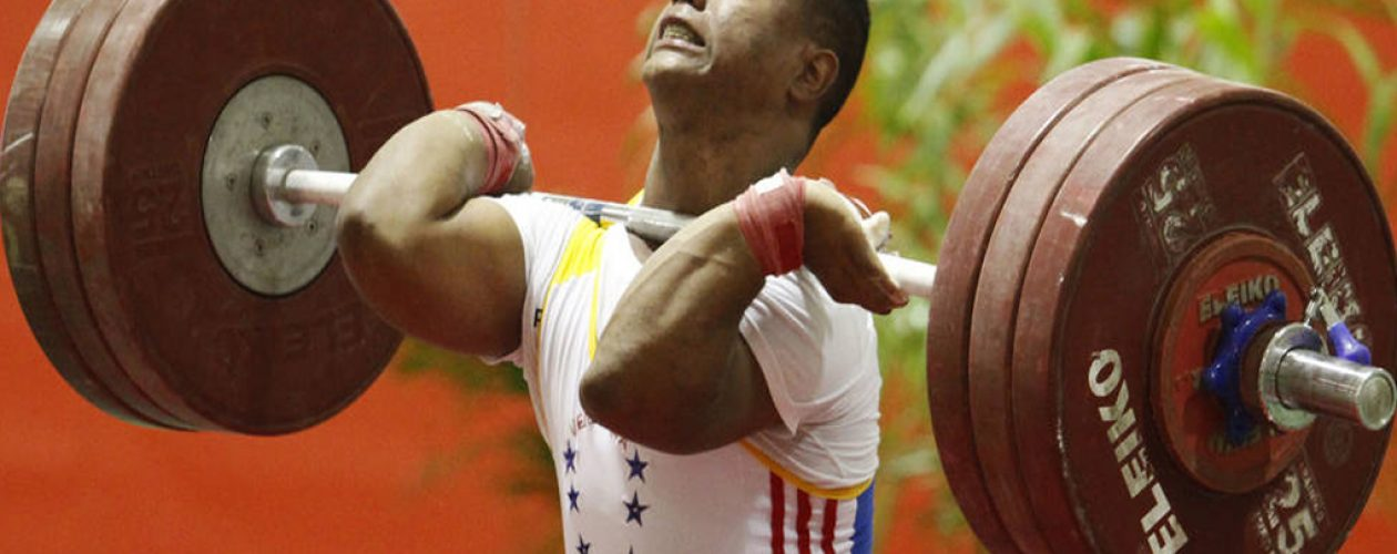 Venezolano logró subcampeonato en Mundial de Levantamiento de Pesas