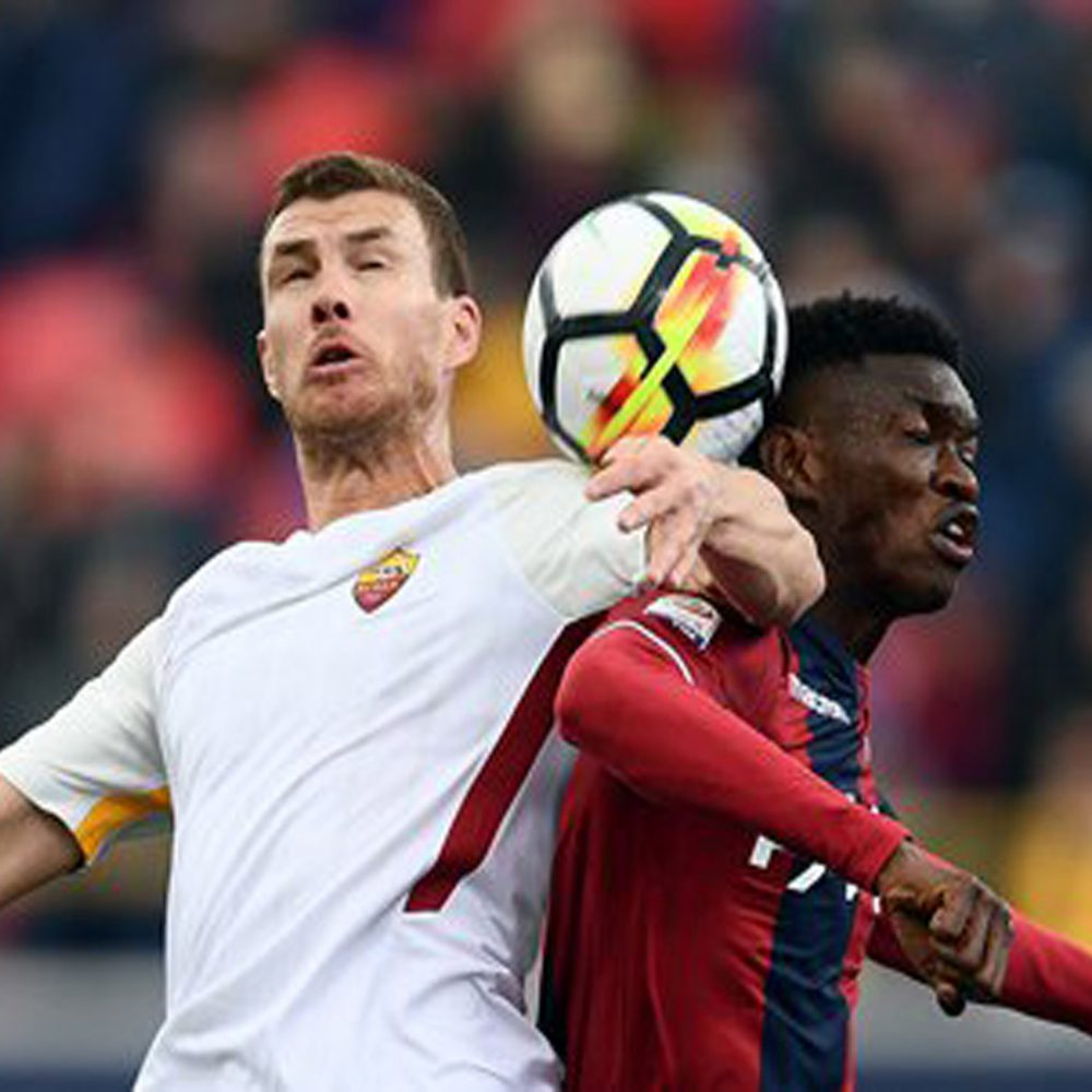 La Roma pasó un susto con el Bolonia antes de enfrentar a Barcelona
