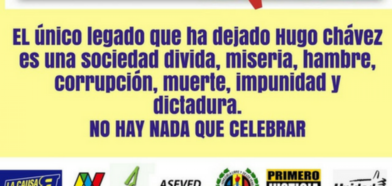 En Madrid también rechazan la mal llamada siembra de Hugo Rafael Chávez Frías