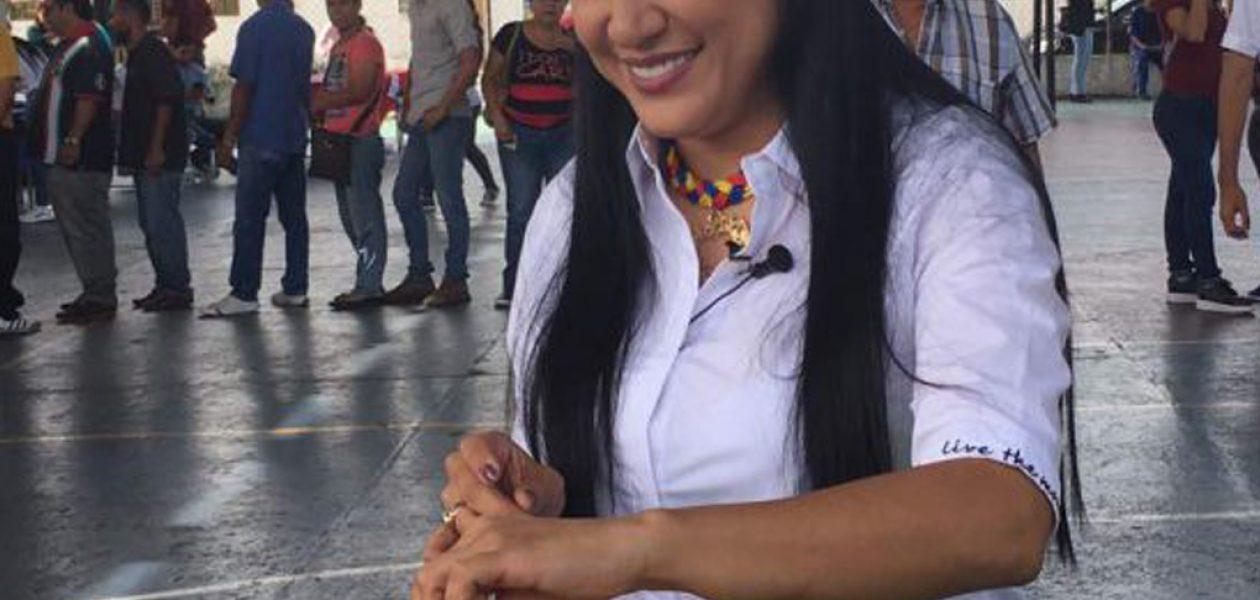 Laidy Gómez es respaldada por todos los partidos opositores para la Gobernación de Táchira