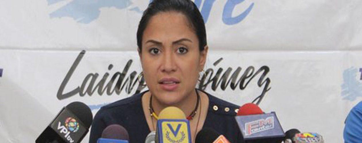 """Laidy Gómez a Guanipa: """"Entregaste el Zulia y decepcionaste la esperanza del pueblo"""""""