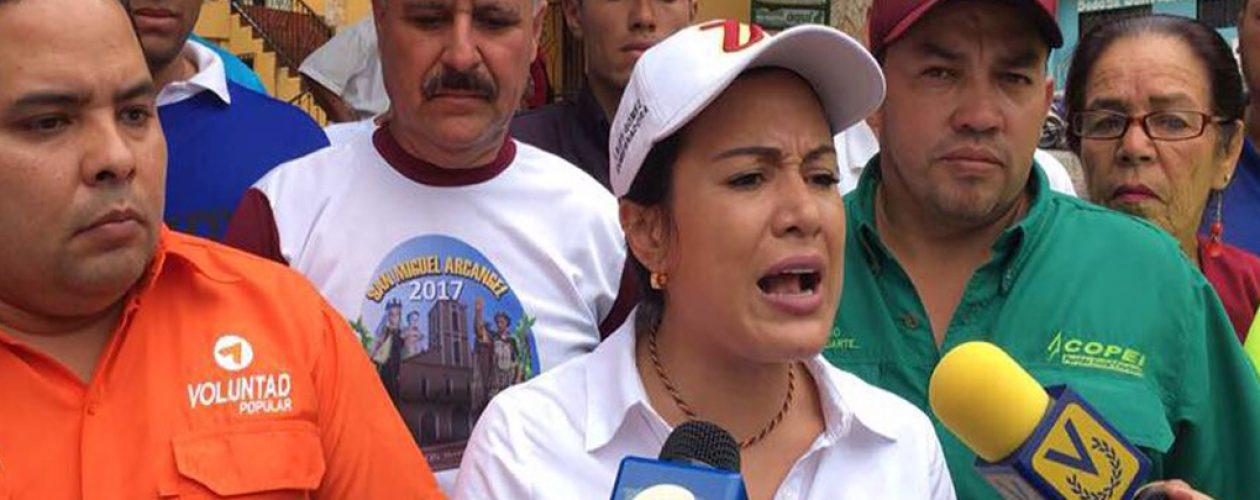 Laidy Gómez propone reactivar la economía en la frontera del Táchira