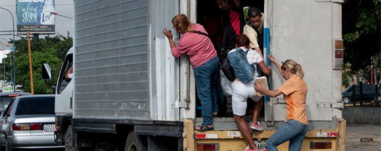 El calvario que se vive en Lara tras la falta de transporte público (+Fotos)