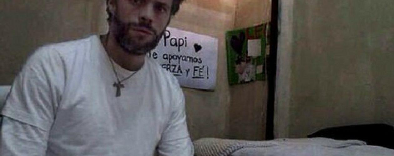 Leopoldo López envia un mensaje a los venezolanos desde Ramo Verde