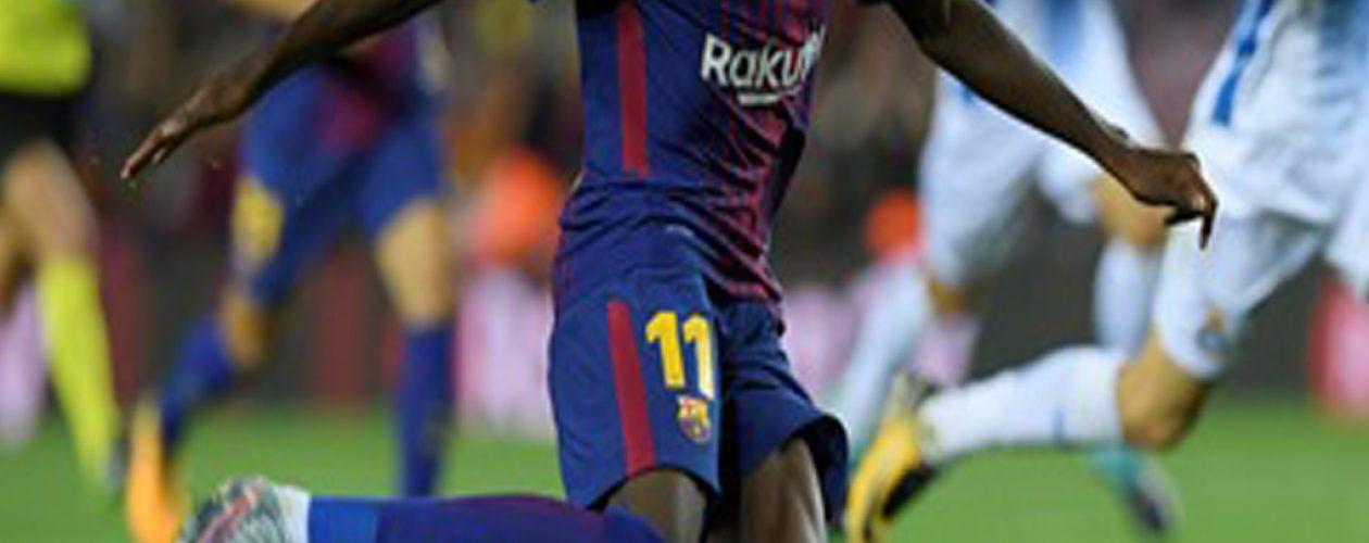 Lesión de Dembelé pone en aprietos el ataque del Barcelona