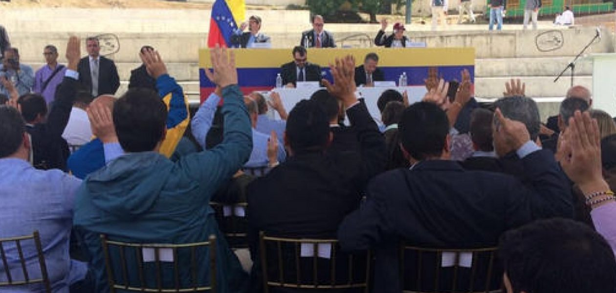 Asamblea Nacional aprobó desde Petare la Ley de Barrios