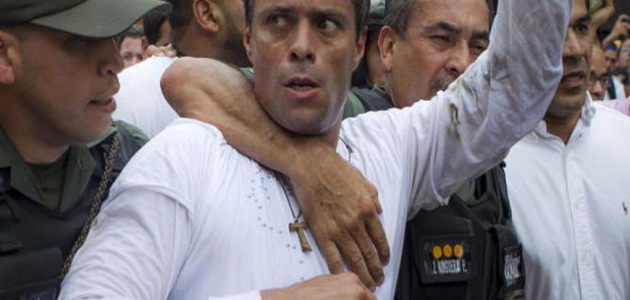 Fue liberado Leopoldo López