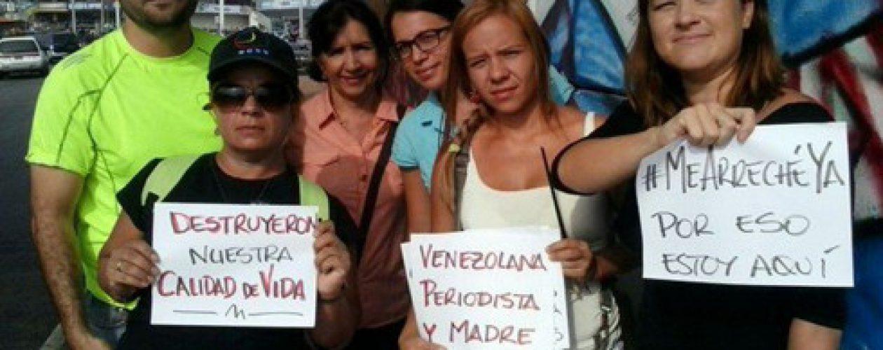 Con violencia amenazan libertad de expresión en Venezuela