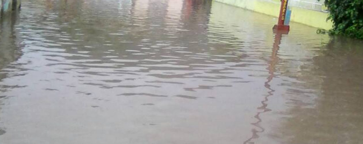 Lluvias en Sucre dejan 143 familias afectadas