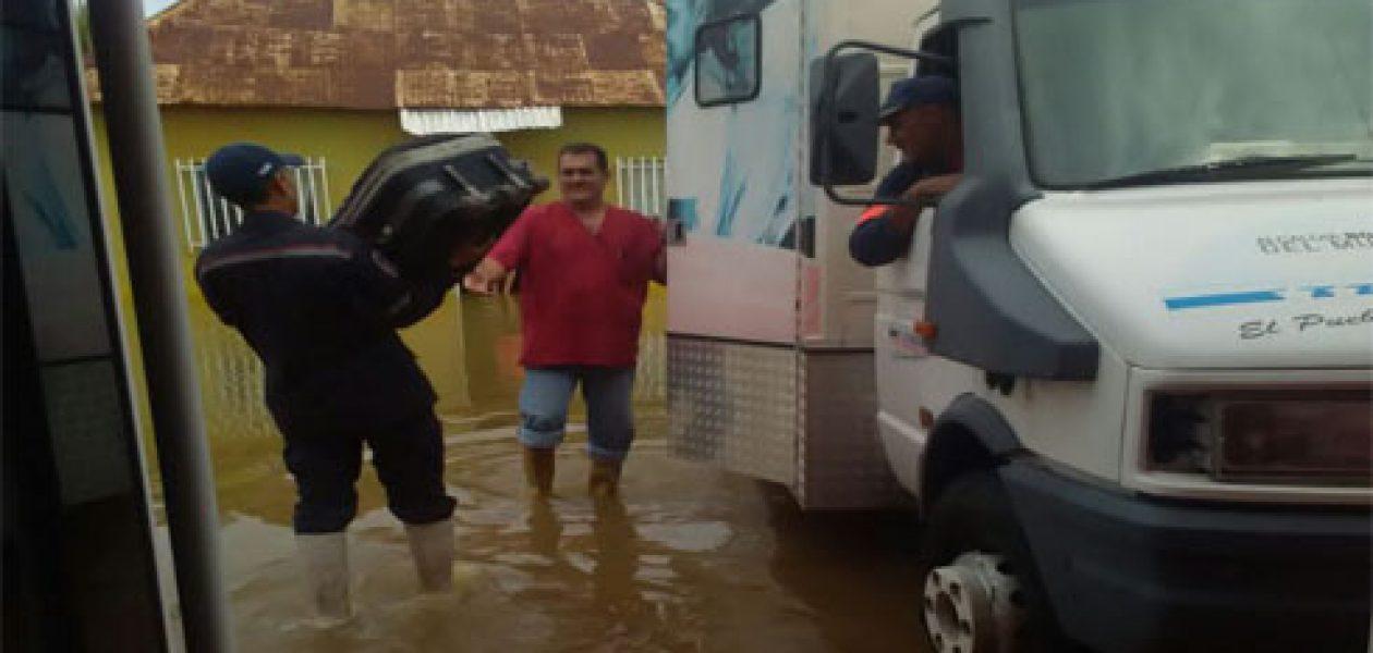 Lluvias en Venezuela inundaron ciudades de Táchira y Zulia